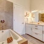 Limestone Master Bathroom Modern Bathroom Chicago By Robbins Architecture