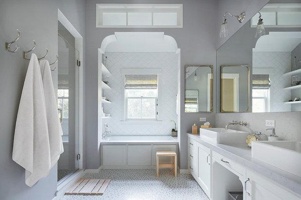 Farmhouse Bathroom by Richardson Architects