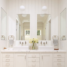 Contemporary Bathroom by Chambers + Chambers Architects