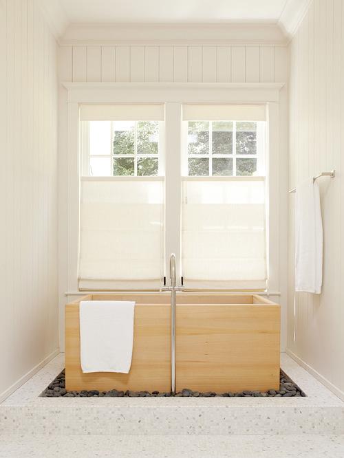 Window Treatments Over Tub