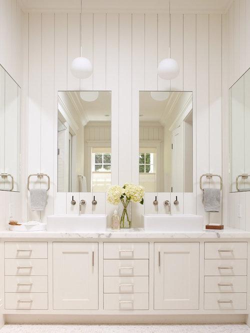 Wonderful Elegant Bathroom Photo In San Francisco With A Vessel Sink