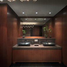 Contemporary Bathroom by Millennium Cabinetry