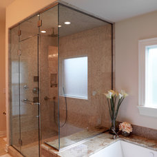 Traditional Bathroom by Crawford Builders