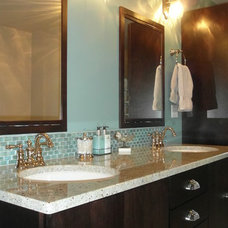Eclectic Bathroom by Premier Paint And Floor Covering