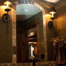 Traditional Bathroom by rak'designs