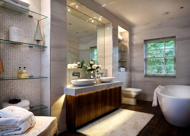 Contemporary Bathroom by Surface Tiles