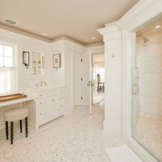 Traditional Bathroom by Toby Leary Fine Woodworking Inc.
