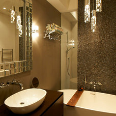 Contemporary Bathroom by IN RESIDENCE DESIGN