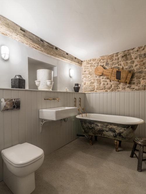 Salle de bain campagne petit budget photos et id es for Budget salle de bain