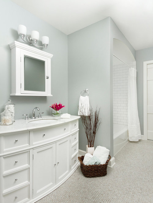houzz bathroom paint colors boothbay gray houzz 18767