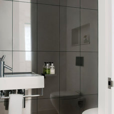 Contemporary Bathroom by Randall Architects