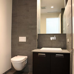 modern bathroom by madeleine boos, architecture + interiors LLC