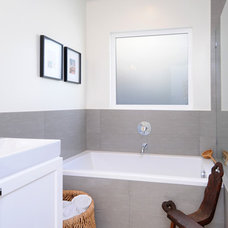 Eclectic Bathroom by Madison Modern Home