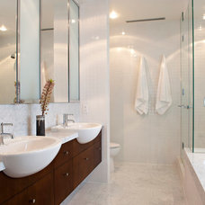 Modern Bathroom by Van Sickle Design Consultants Inc