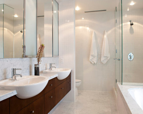 Semi recessed basin home design ideas pictures remodel for Bathroom ideas vancouver