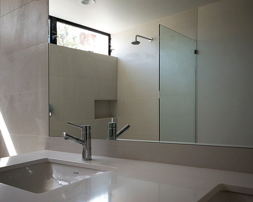 Modern orange county bathroom design ideas remodels photos - Modern kitchen cabinets orange county ...