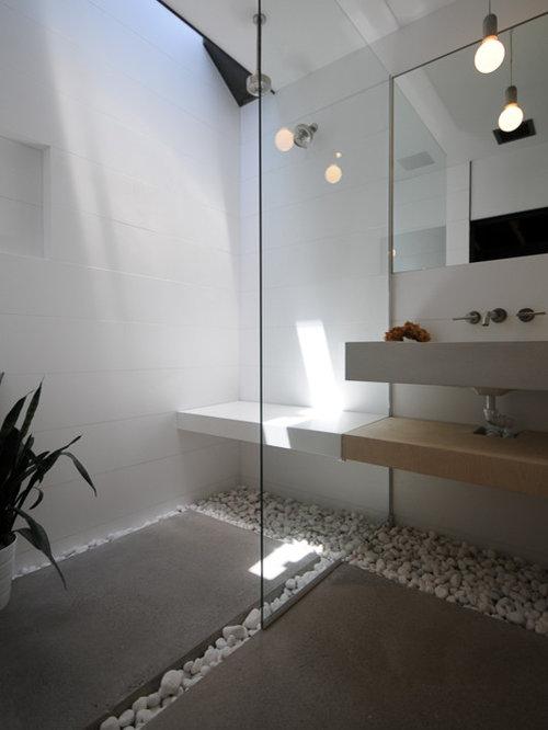 Petite salle d 39 eau moderne photos et id es d co de - Petite salle d eau moderne ...