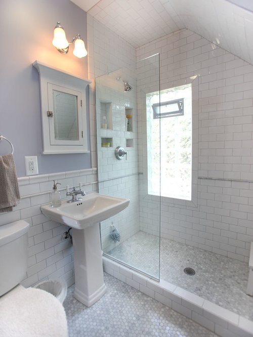 Best doorless shower design ideas remodel pictures houzz for Bathroom ideas 1920 s