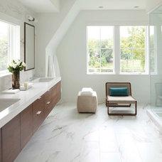 Contemporary Bathroom by Charlie & Co. Design, Ltd