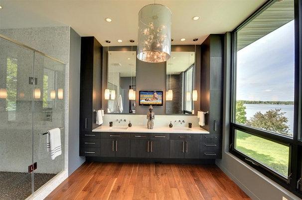 Contemporary Bathroom by Turnquist Design