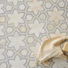 Beach Style Bathroom by New Ravenna Mosaics