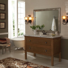 Transitional Bathroom by MirrorMate