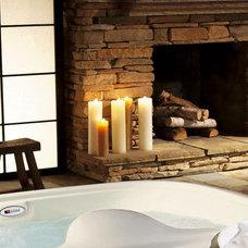 Bathroom by Elnora Design Interiors