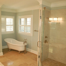 Traditional Bathroom by McMillan Builders