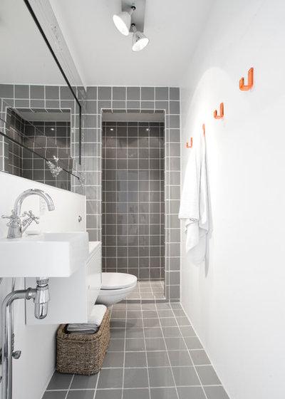 Scandinavian Bathroom by Design By Us Interior