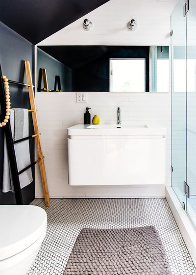 Contemporain Salle de Bain by SF Design Build