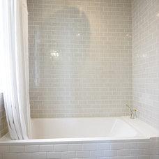 Modern Bathroom by Nerland Building & Restoration, Inc.