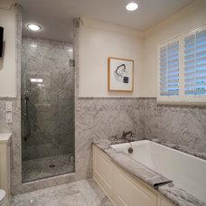 Traditional Bathroom by Design Build Team Inc