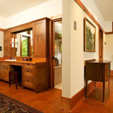 Mission Style House Interior