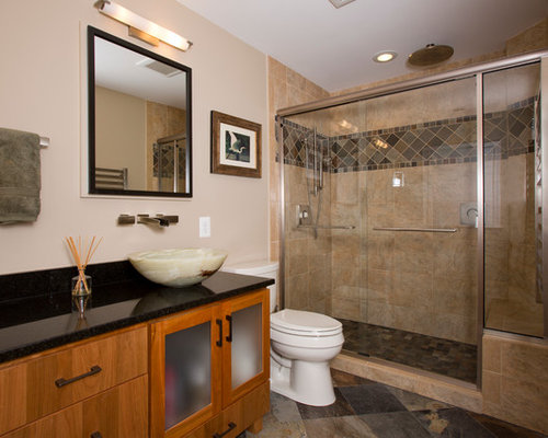 Arts and crafts bathroom design ideas renovations - Arts and crafts style bathroom design ...