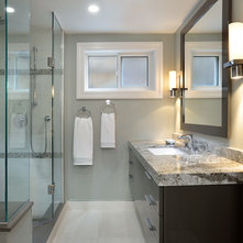 Waterfall edge shower seats an ideabook by franvalli for Andros kitchen bath designs