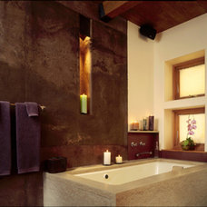 Eclectic Bathroom by Graybeal Architects