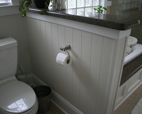 Half Wall Beadboard Ideas Pictures Remodel And Decor