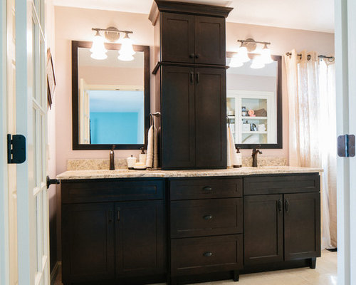 Houzz Double Vanity Towers Design Ideas Remodel Pictures