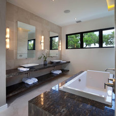 Modern Bathroom by Phil Kean Design Group