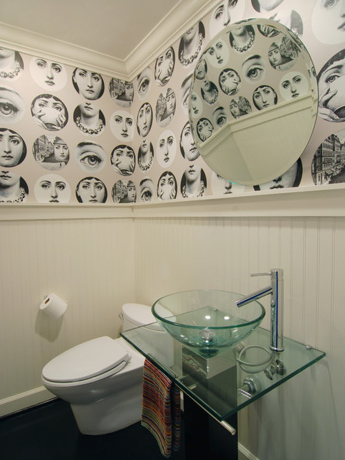 funky wallpaper houzz best 20 funky bathroom ideas on pinterest small vintage