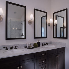 contemporary bathroom by MJ Lanphier
