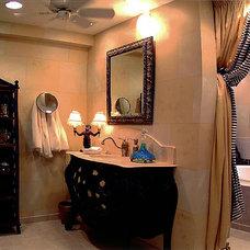 Traditional Bathroom by Michael J. Moore
