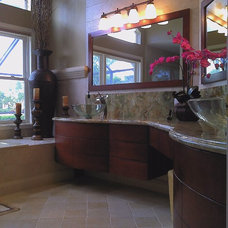 Contemporary Bathroom by Christi's Cabinetry