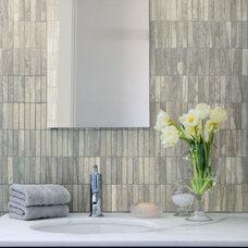 Contemporary Bathroom by Tile Fantastic