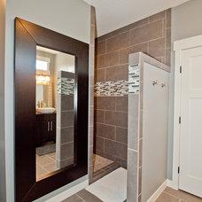 Craftsman Bathroom by H2O Homes, Inc