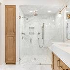 The Stanwood Estate Barn Farmhouse Bathroom Boston
