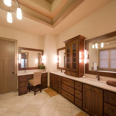 Rustic Bathroom by Carpet Direct Kansas City
