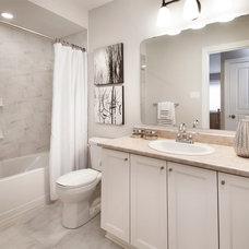 Transitional Bathroom by Tartan Homes