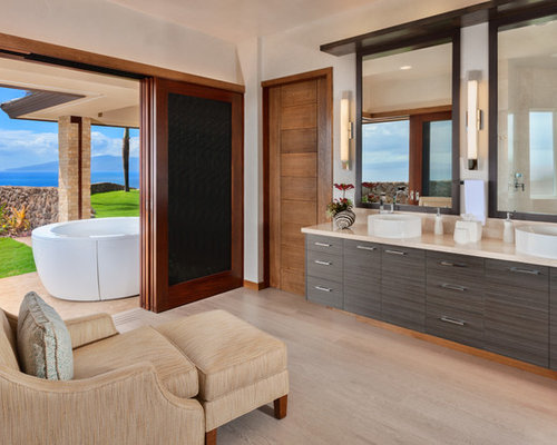 Best bathroom with a hot tub design ideas remodel for Skylights of hawaii llc