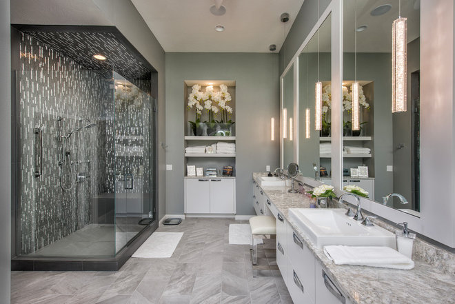 Contemporary Bathroom by Cabinet Concepts by Design